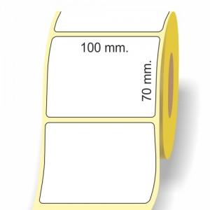Etichette termiche,trasferimento termico,jet gloss in rotoli
