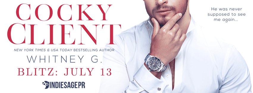 Cocky Client by Whitney G. - Blitz and Giveaway