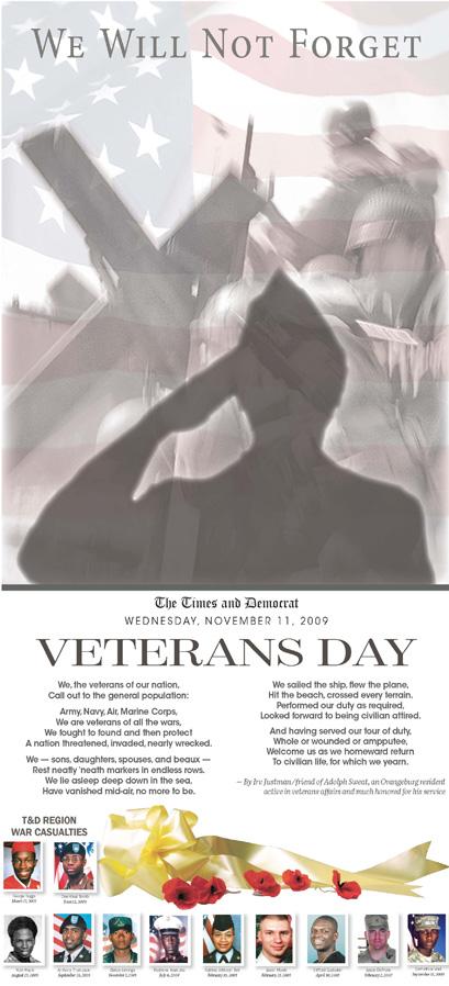 VeteransDayWeWillNotForget