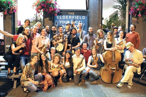 Our weekly folk session celebrate it's third birthday