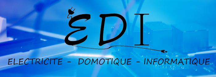 header EDI Electricité - Domotique - Informatique