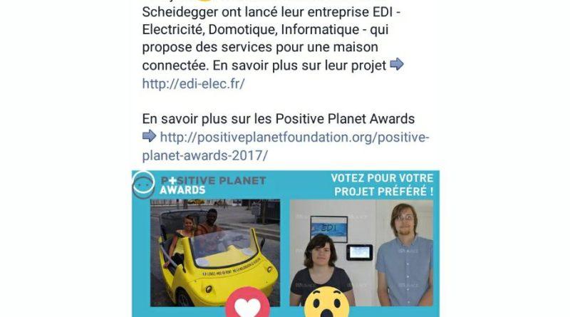 Positive Planet Award 2017
