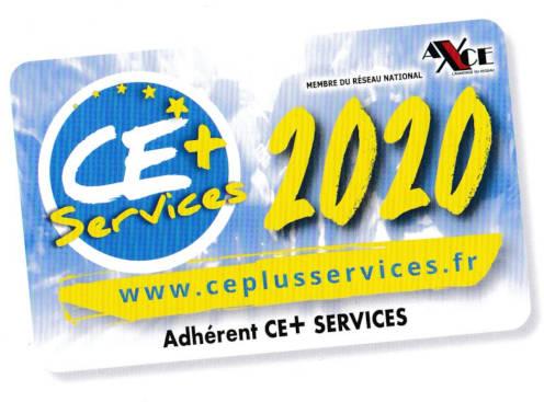 Carte CE+ services 2020