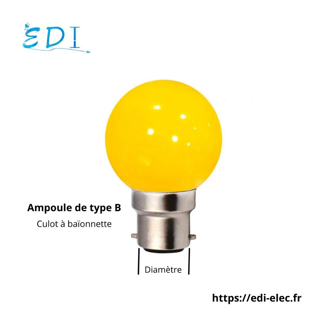 Ampoule de type B