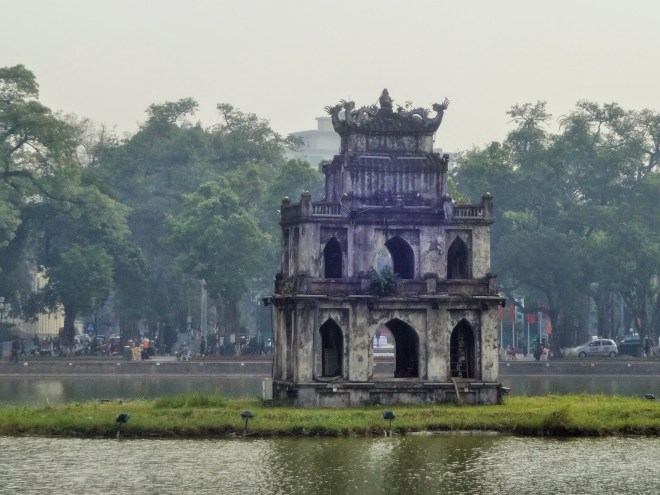 Tortoise Tower, Hoan Kiem Lake