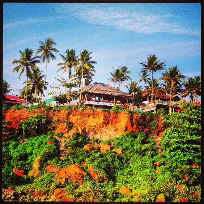 The red cliffs of Varkala