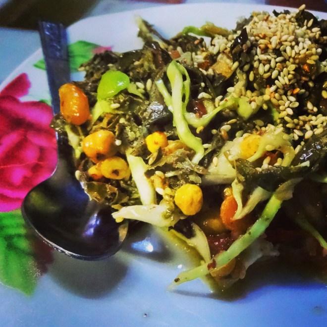 Green Tea Leaf Salad
