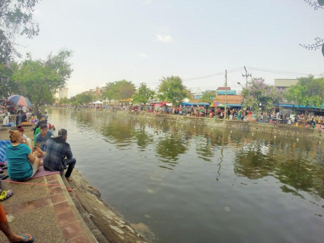 The canal of Chiang Mai