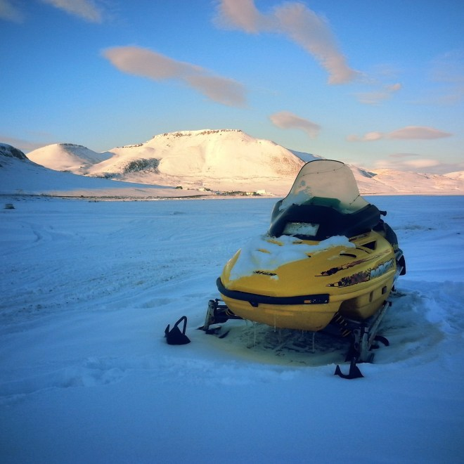 Arctic Bay, down at the ice