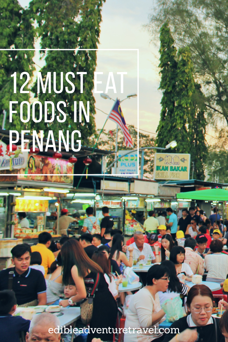 A list of must eat food in Penang, Malaysia. Believe me, you won't go hungry!