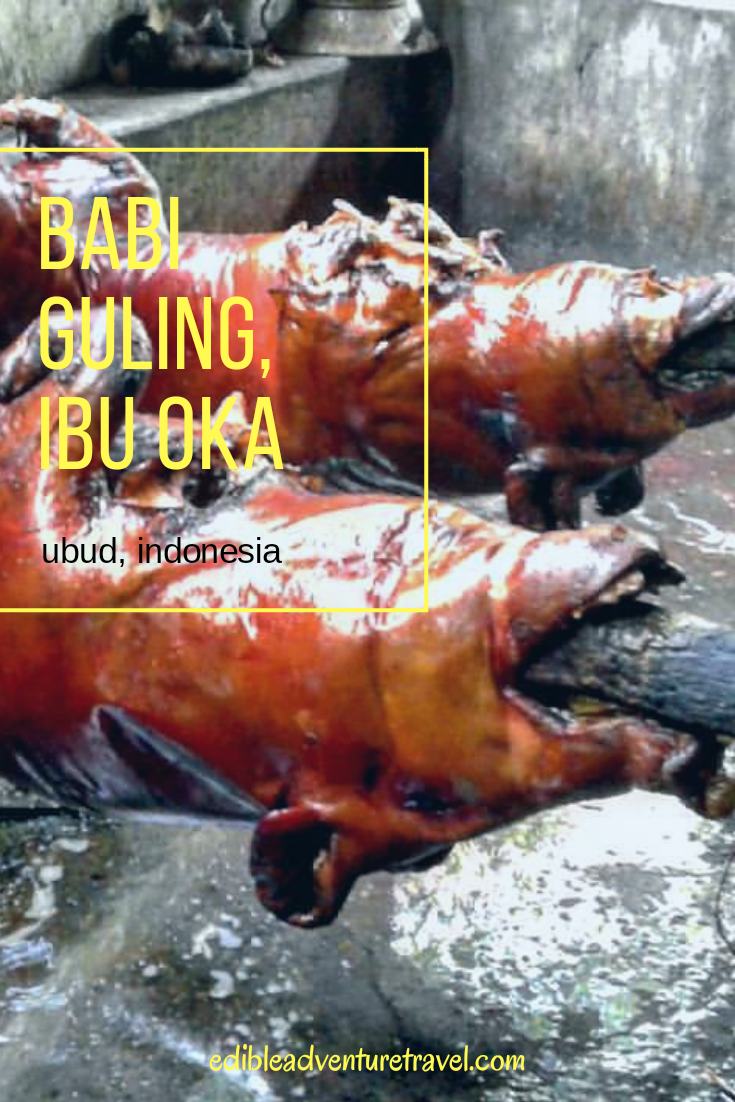Babi Guling, an absolute must eat while in Ubud, Bali!!