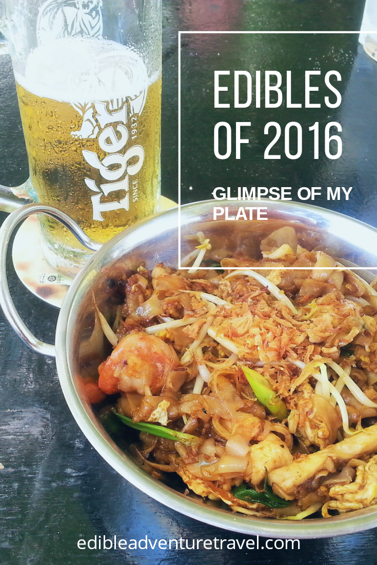 A glimpse of my plate in 2016