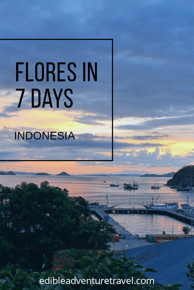 A week in Flores from Kelimutu to Komodo. You won't see it all, but you'll see a lot1