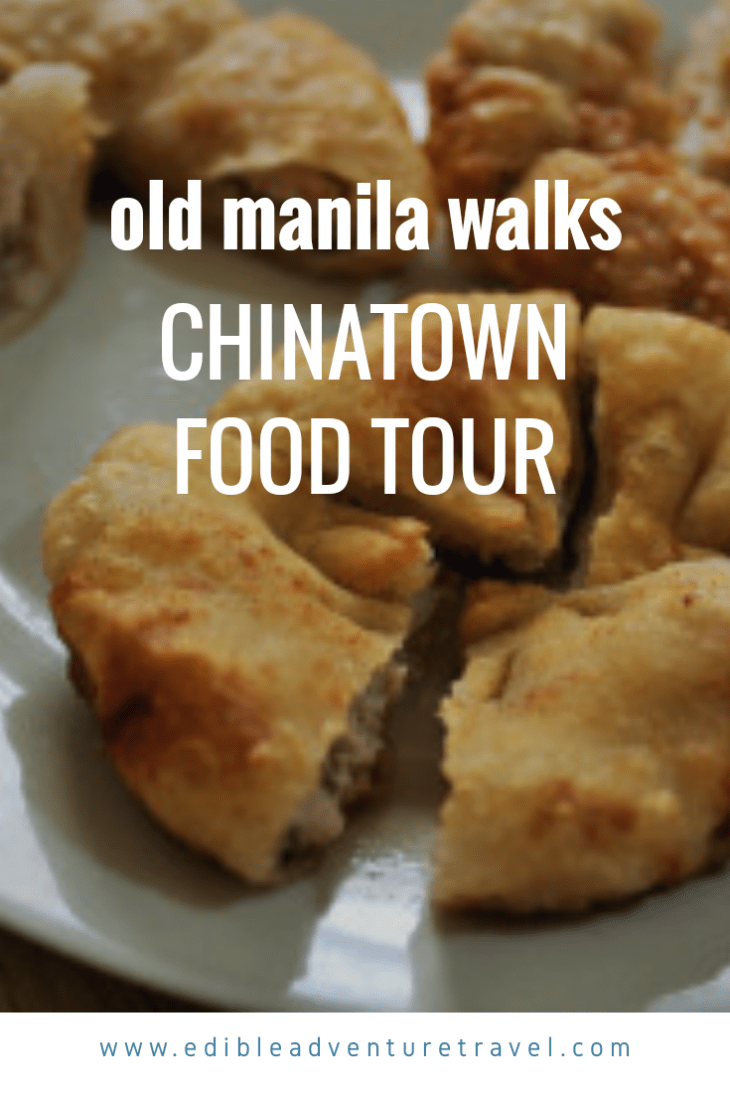 If you're in Manila, definitely jump on this tour for a bite of Old Chinatown