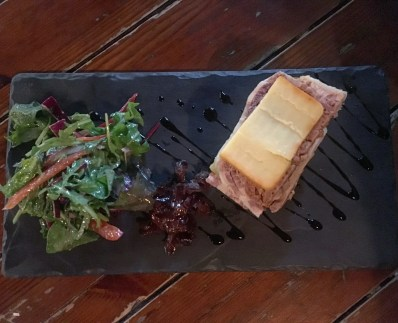 Pork Terrine with Irish Cheddar