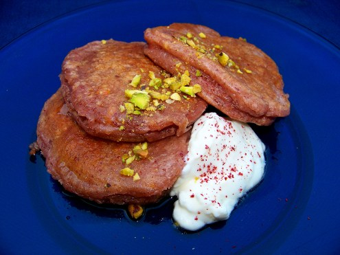 Arab Orange Blossom and Sumac Pancakes