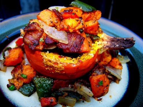 Winter Squash, Roasted & Loaded