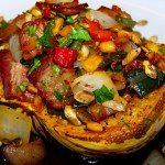 Roast Squash Coloradito