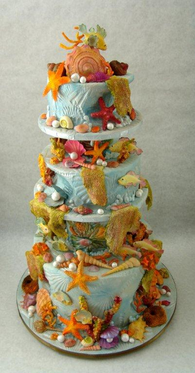 shell cake