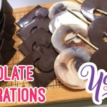 FLAT CHOCOLATE DECORATIONS Tutorial | Yeners Cake Tips with Serdar Yener from Yeners Way