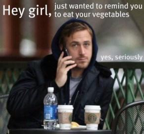 Hey Girl Vegetables