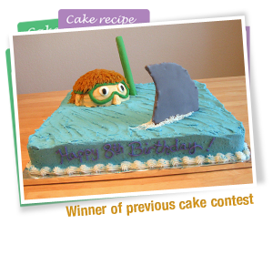 Cake Craft And Decoration Competition : Cake Contest at Family Fun   Edible Crafts