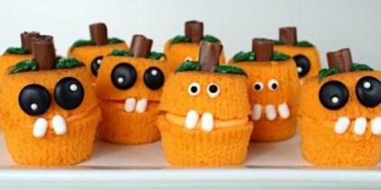 Pumpkin and Jack O' Lantern Cupcakes – Edible Crafts