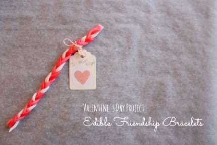 candy bracelet valentines
