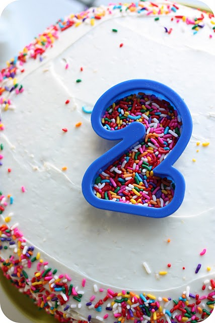 sprinkle birthday cake