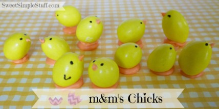 candy chicks easter