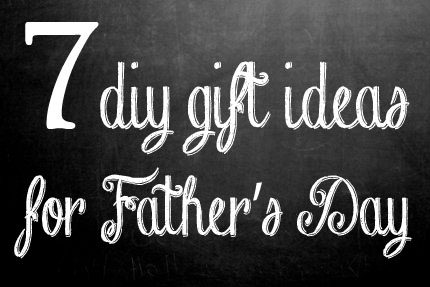7 DIY Food and Drink Gift Ideas for Dad