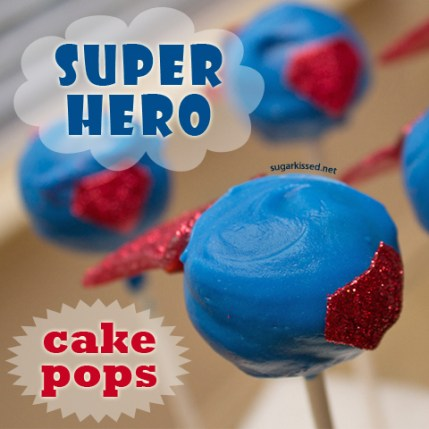 superhero.cakepops