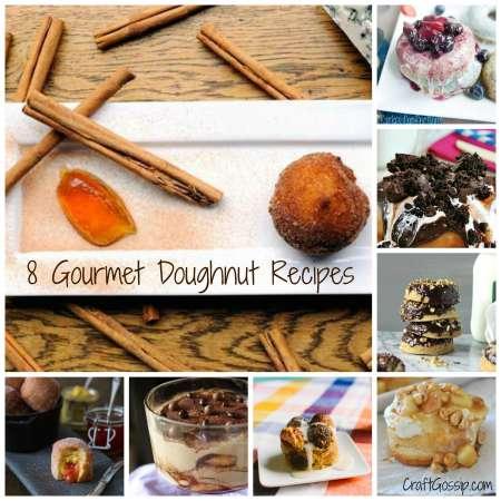Gourmet Doughnut Recipes