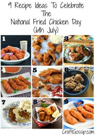 9 Recipe Ideas For National Fried Chicken Day