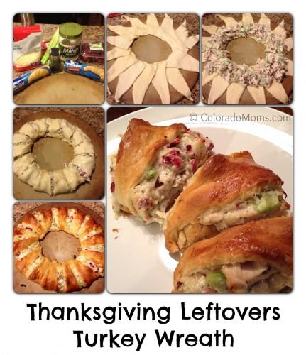 leftover turkey wreath