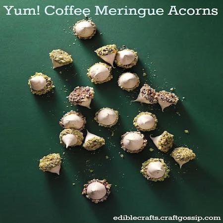 meringue-acorns