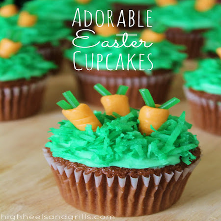 Adorable Easter Cupcakes