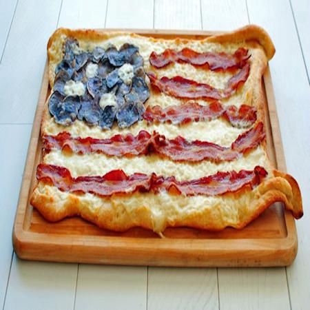 BaconFlagPizza