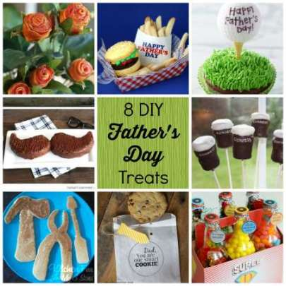 8 DIY fathers day treats