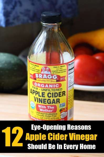 12 great ideas to use Apple Cider Vinegar