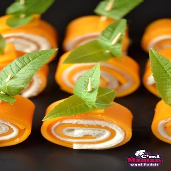 Pumpkin Patch Cheese Roll