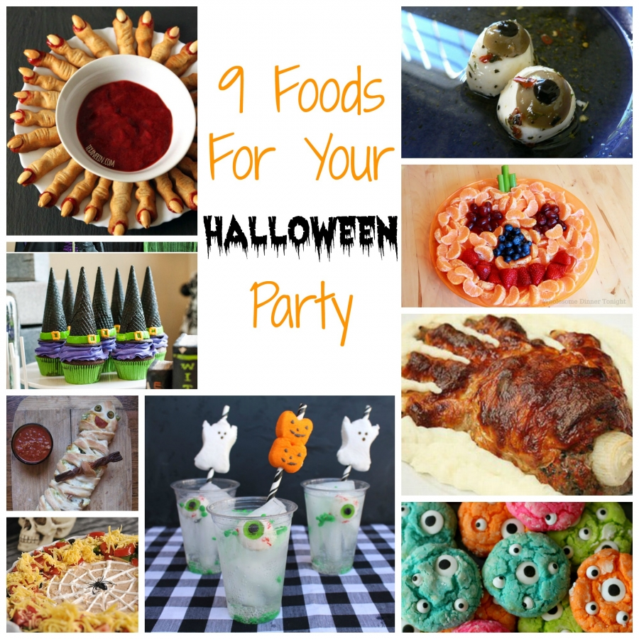 9 foods for your halloween party – edible crafts