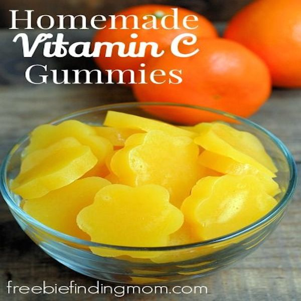Homemade Vitamin C Gummies – Edible Crafts