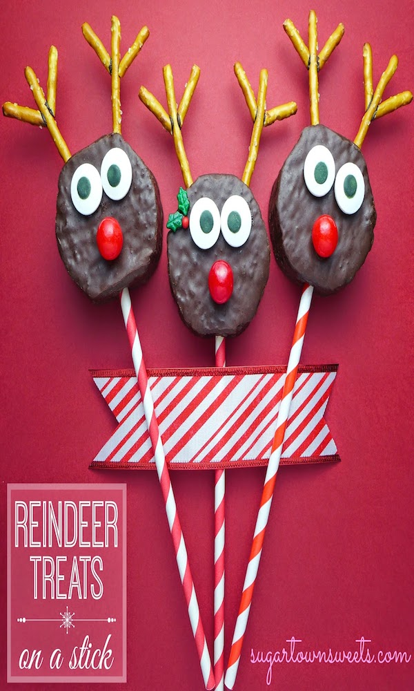 How to make reindeer treats~edible crafts