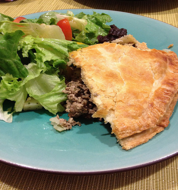 tourtiere (pork pie)