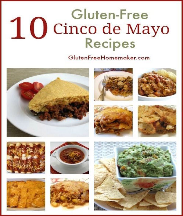 10 cinco de mayo gluten free recipes