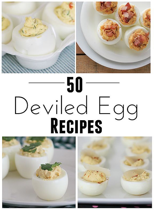 50 deviled egg recipes