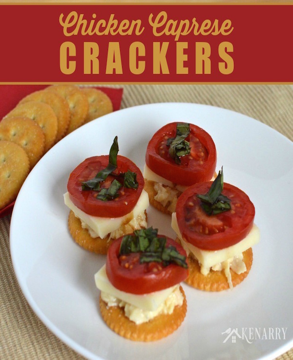 Chicken-Caprese-Crackers