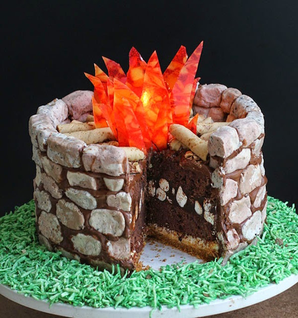 fire-pit-smores-cake