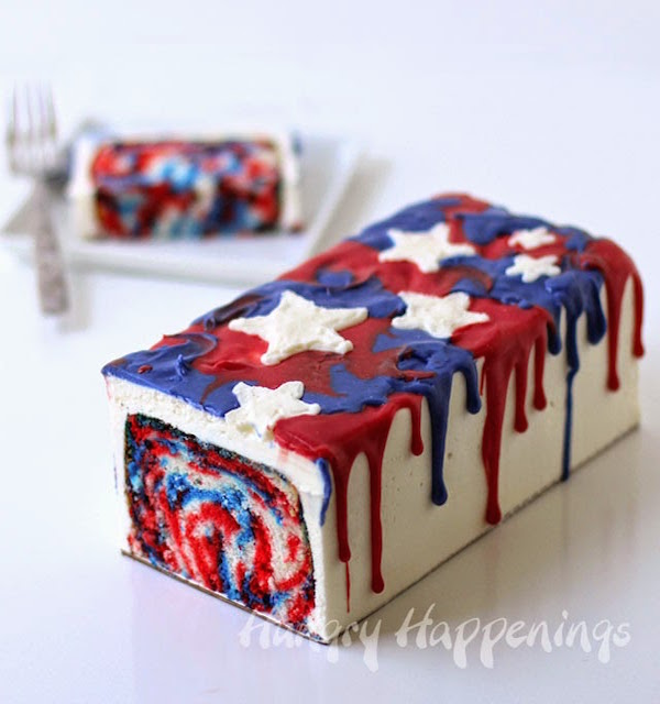 red-white-and-blue-melting-cake